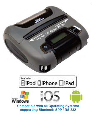 SMT400i MFI Mobile Printer