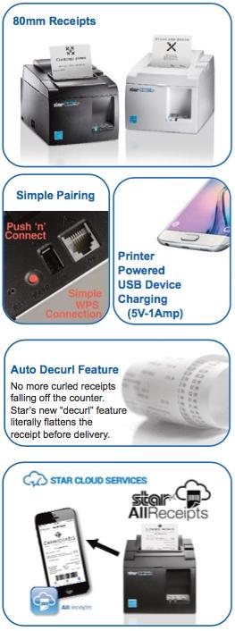 Stra Micronics TSP143III WLAN Printer