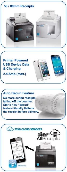 Stra Micronics TSP143III USB Printer